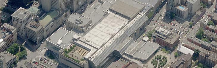 r fection des bassins de la toiture du palais des congr s. Black Bedroom Furniture Sets. Home Design Ideas